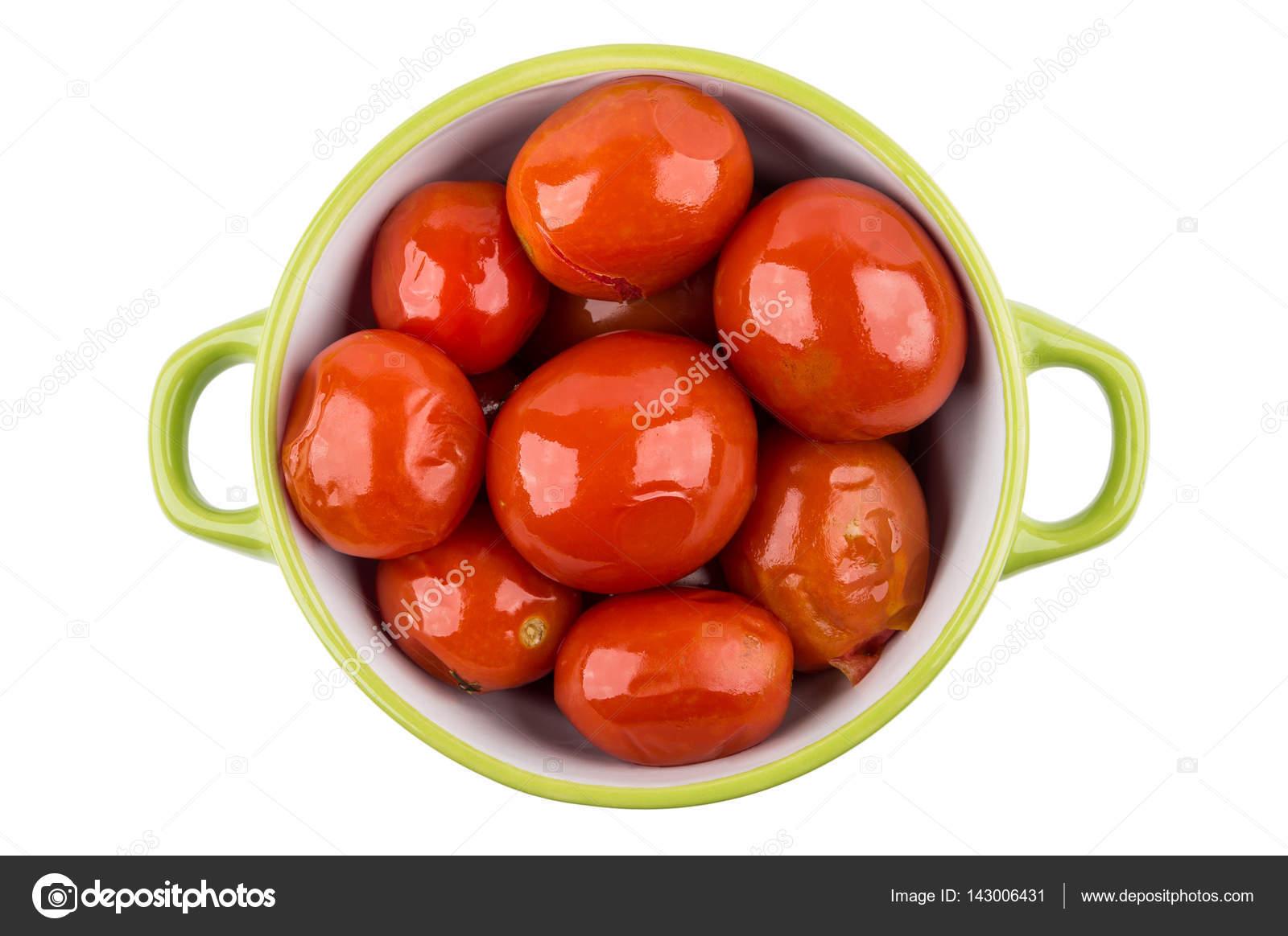 syltade röda tomater