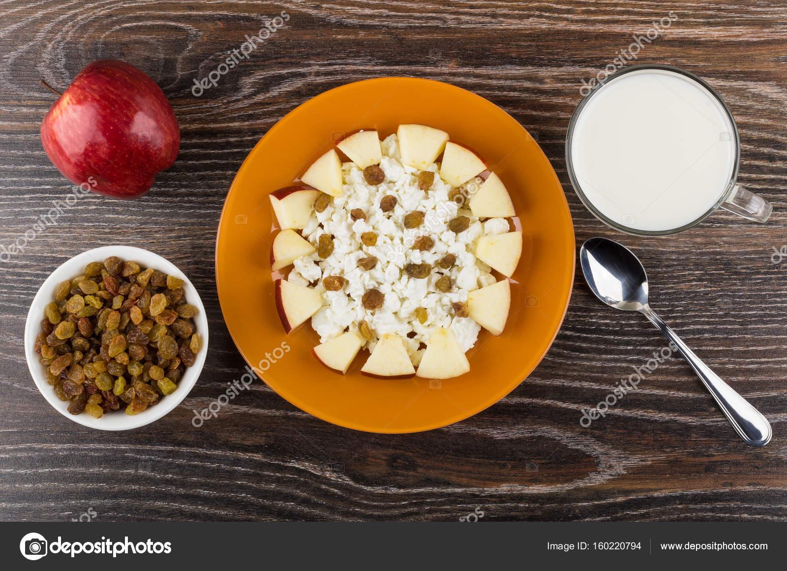 kwark met appel