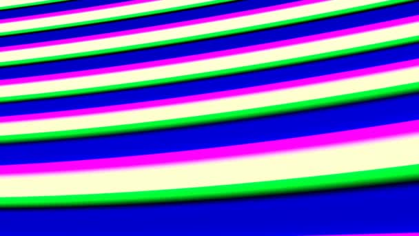 Gently Moving Multi-Colored Bars Abstract Background