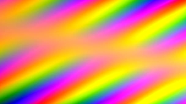 Moving Rainbow Spectrum of Primary Colors for Pride Background