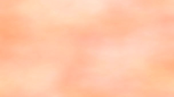 Soft Flesh Skincare Theme Colored Clouds Blowing Around Pink Sky Loop