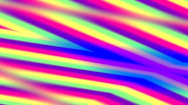 Plné spektrum duhových barev Jemné pulzující abstraktní pozadí