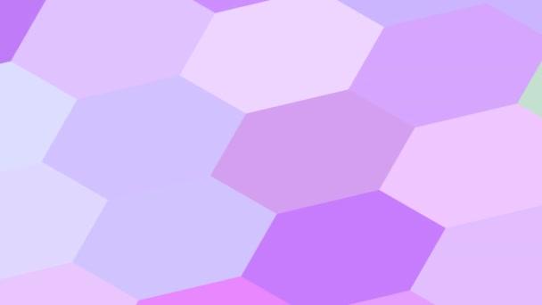 Lila rózsaszín és lila női szín Hexagonális rács Végtelen hurok