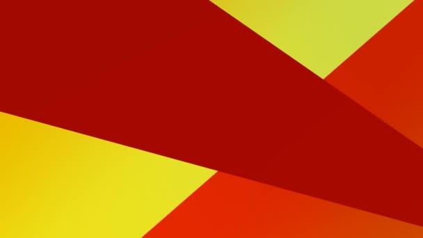 Světle červené a žluté kopírovací panely Přechodové zvýrazňování Nekonečné smyčky