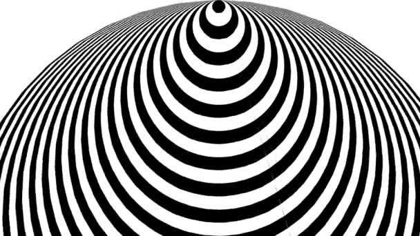 Kilátás egy Spirál tölcsér alagút Kivonva 3D-be Felülről lefelé Újravetített Cone