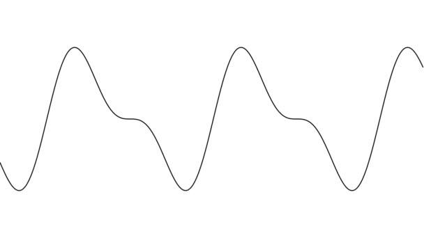 Különböző lépcsők egy szinuszhullámú maszkba ágyazva