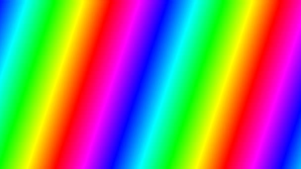 Vzorek gradientu klesajícího diagonálního spektra duhového spektra