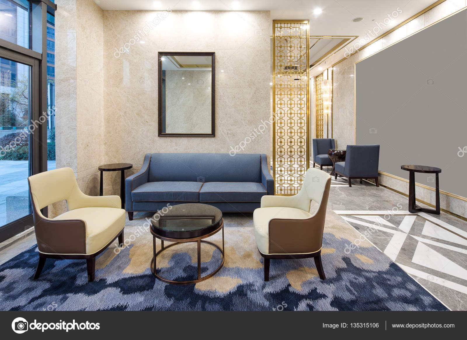 Dekoration Und Design Von Modernen Luxus Wohnzimmer U2014 Foto Von Zhudifeng