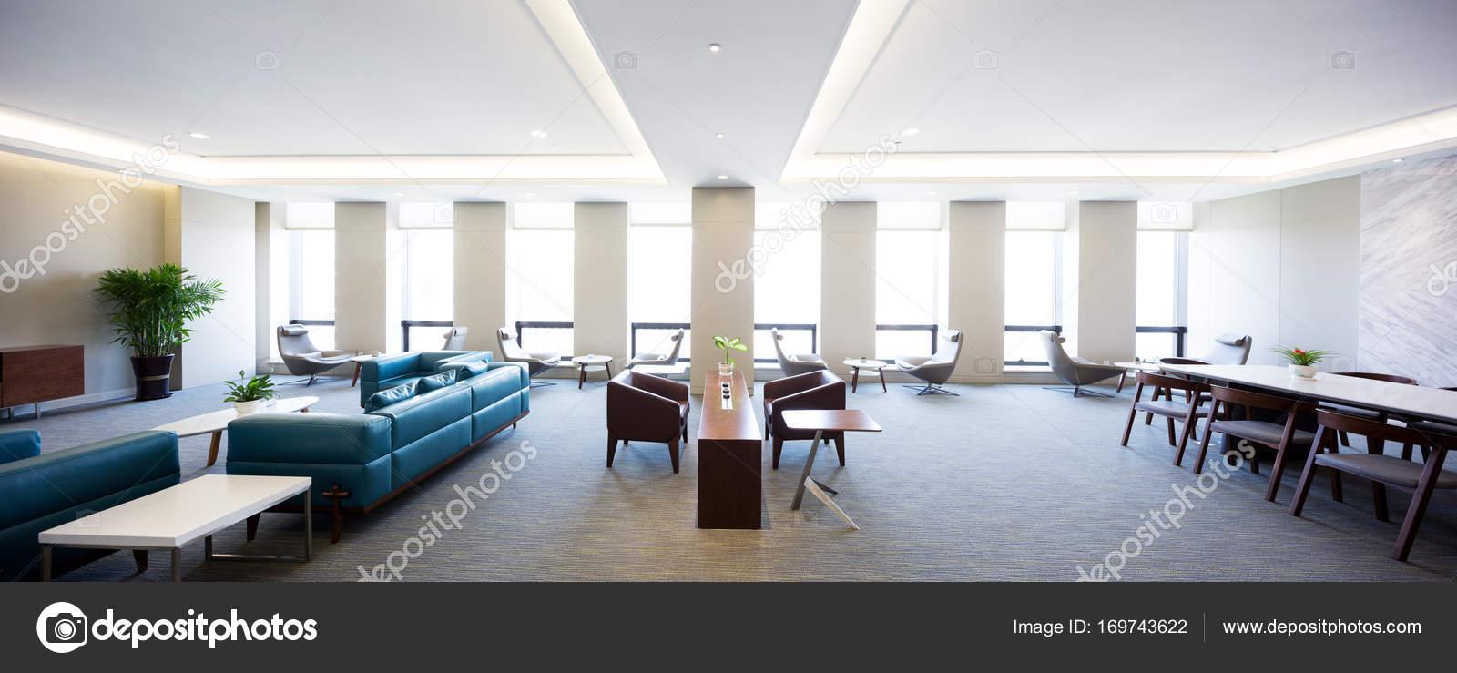 modern spacious living room interior — Stock Photo © zhudifeng ...