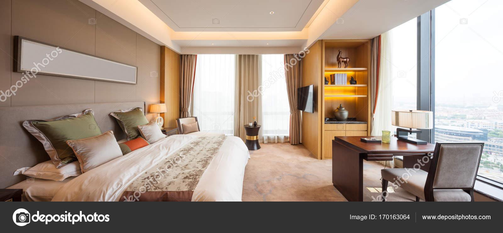 intérieur de la chambre de luxe moderne — Photographie zhudifeng ...