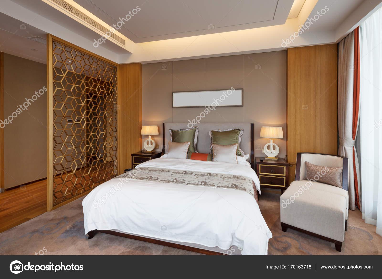 Dekoration Und Design In Luxus Schlafzimmer U2014 Foto Von Zhudifeng