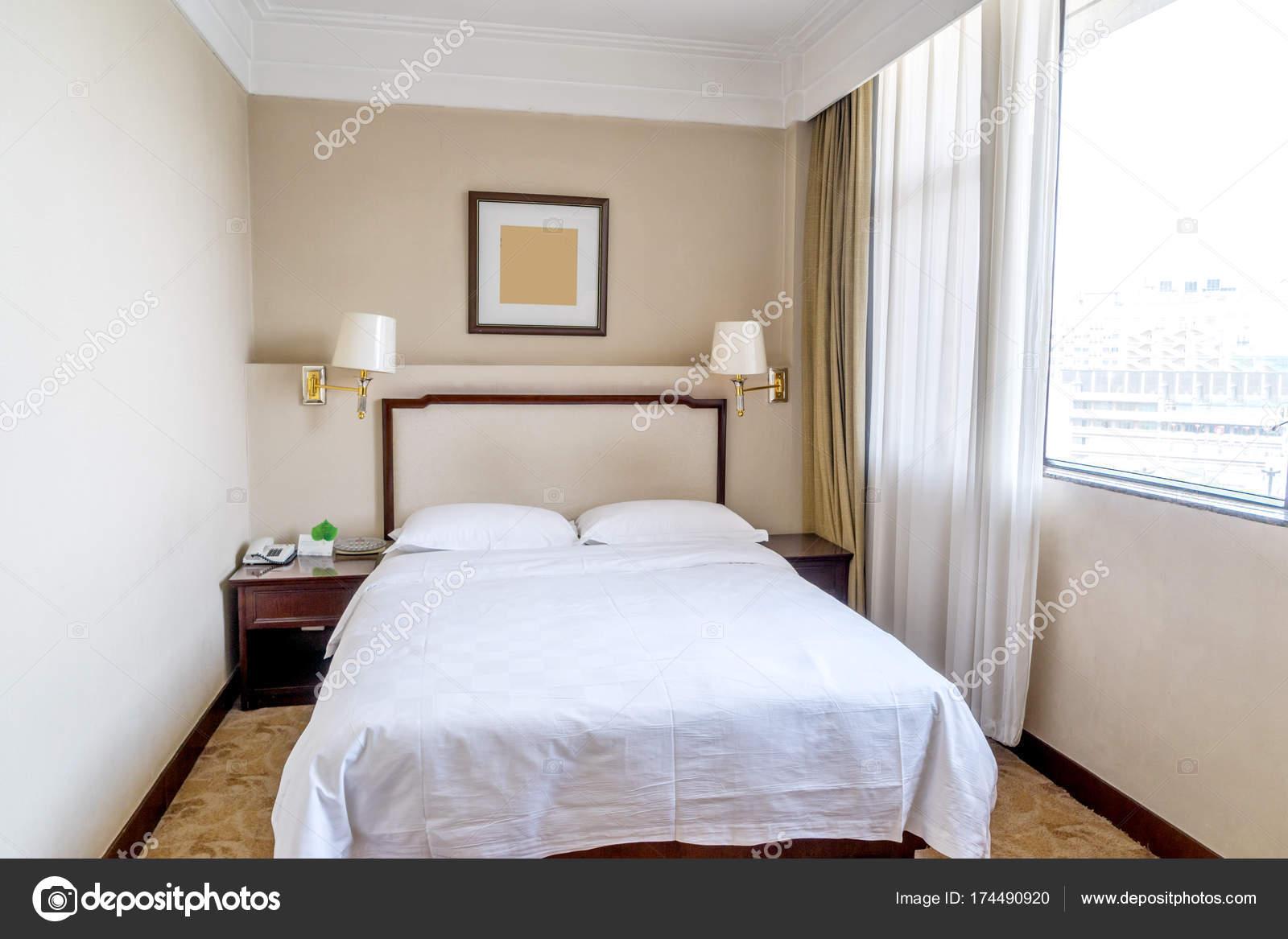 Design Decorao Quarto Solteiro Num Hotel Moderno