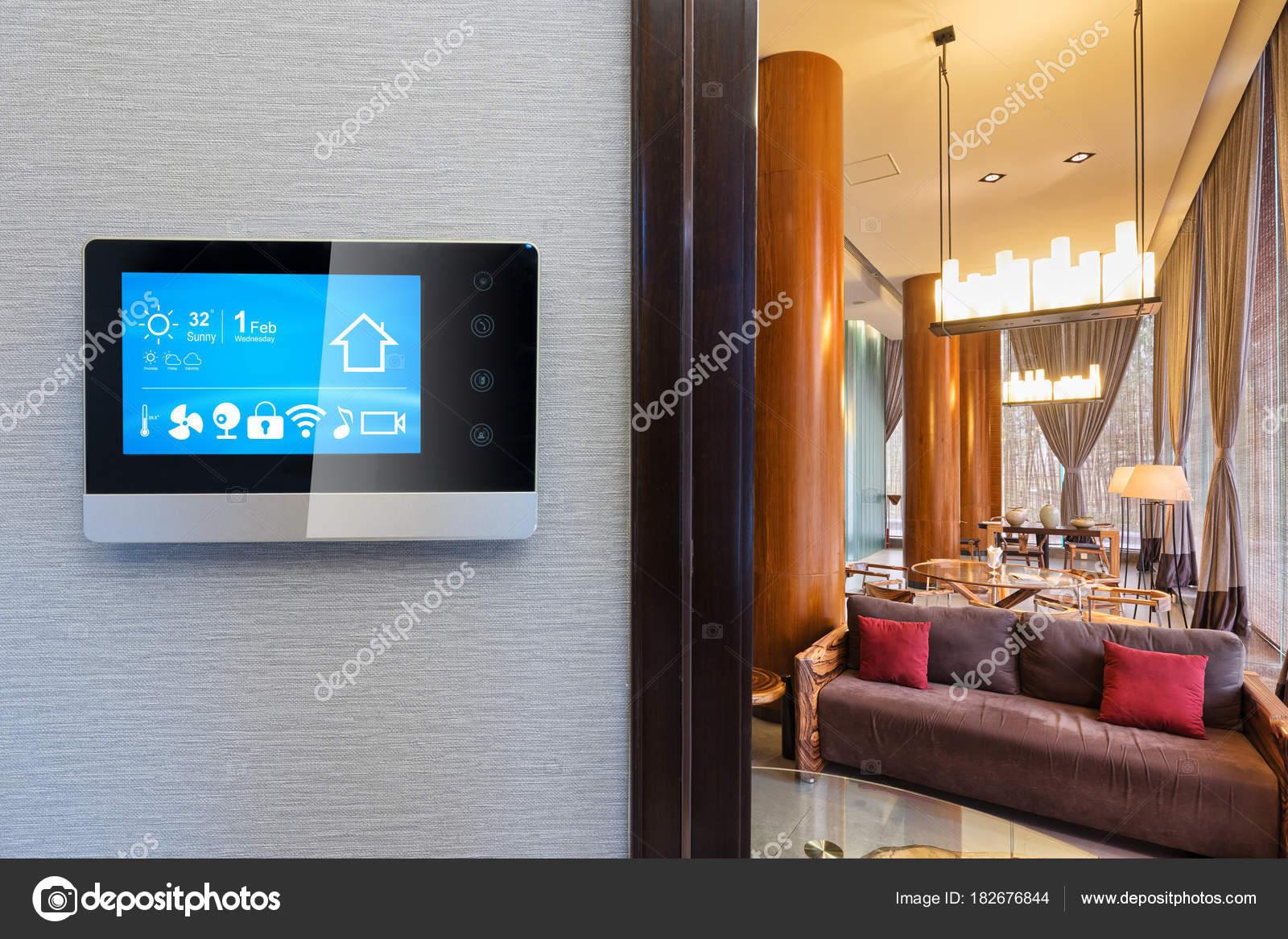 Dekoration Und Möbel Im Modernen Wohnzimmer U2014 Foto Von Zhudifeng