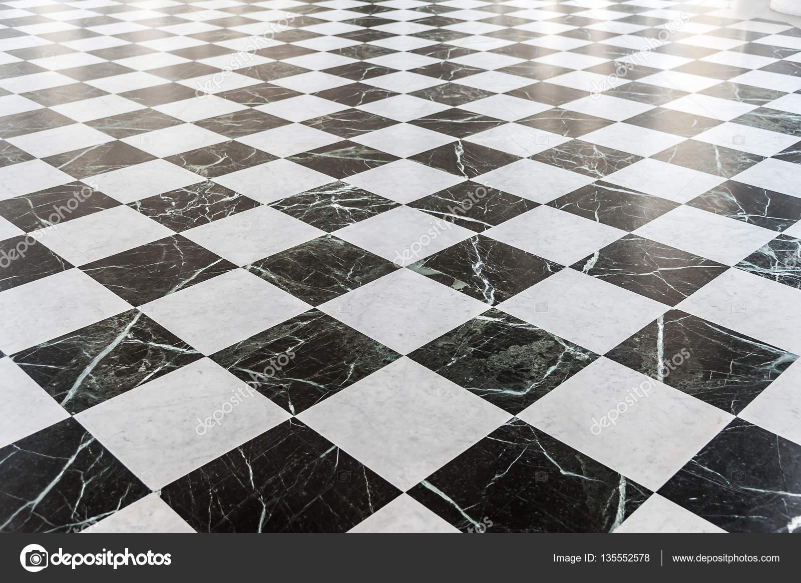 sol en marbre damier noir et blanc photographie cla1978 135552578. Black Bedroom Furniture Sets. Home Design Ideas