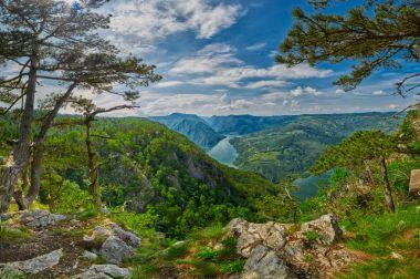 Beautiful Serbian Landscape Panorama