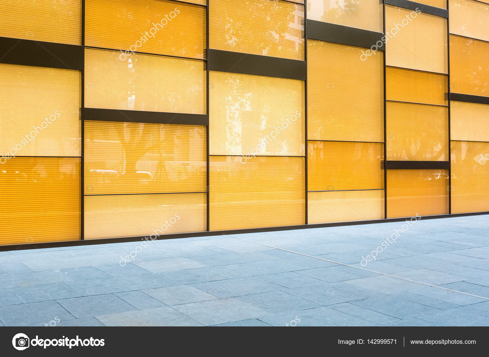 modern glass curtain wall background — Stock Photo © chungking ...