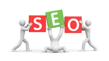 people and word SEO symbol
