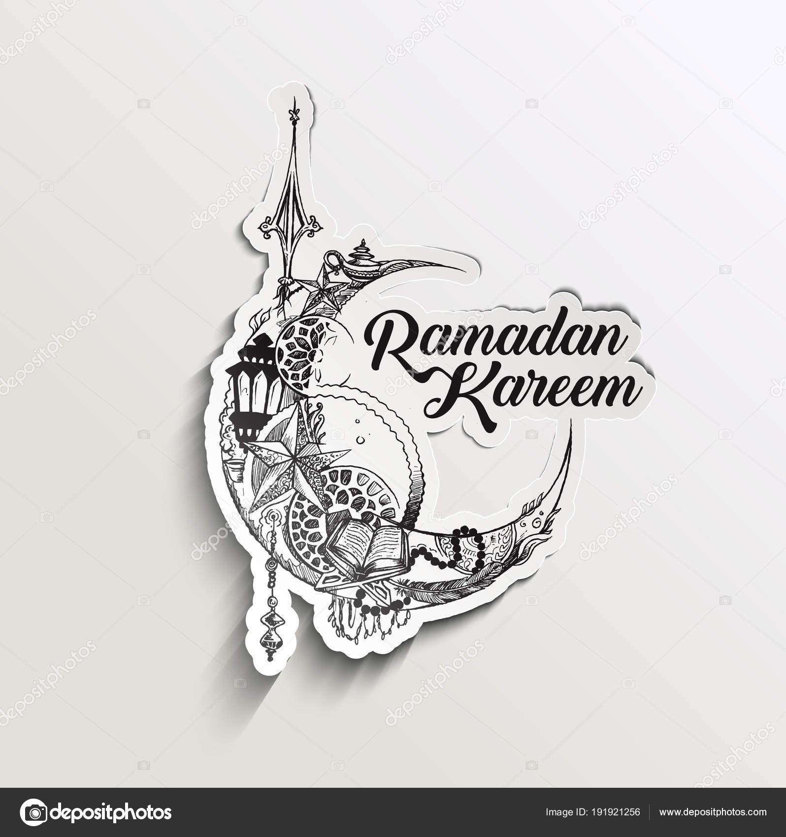 Eid Mubarak Celebration Calligraphy Stylish Lettering Ramadan K Stock Vector