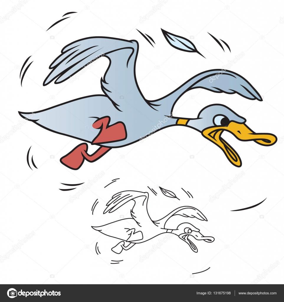 Acciones ilustración. Torpe pato — Fotos de Stock © bomg11 #131675198