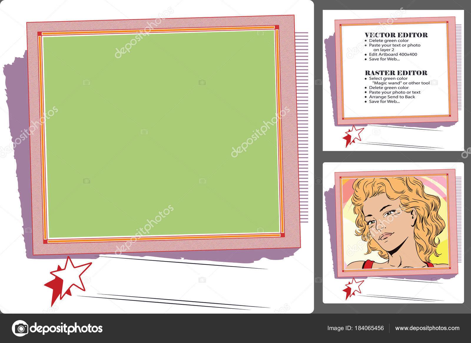 Celebratin Thema. Rahmen für Gästebuch, Banner, Online-Shop, soc ...