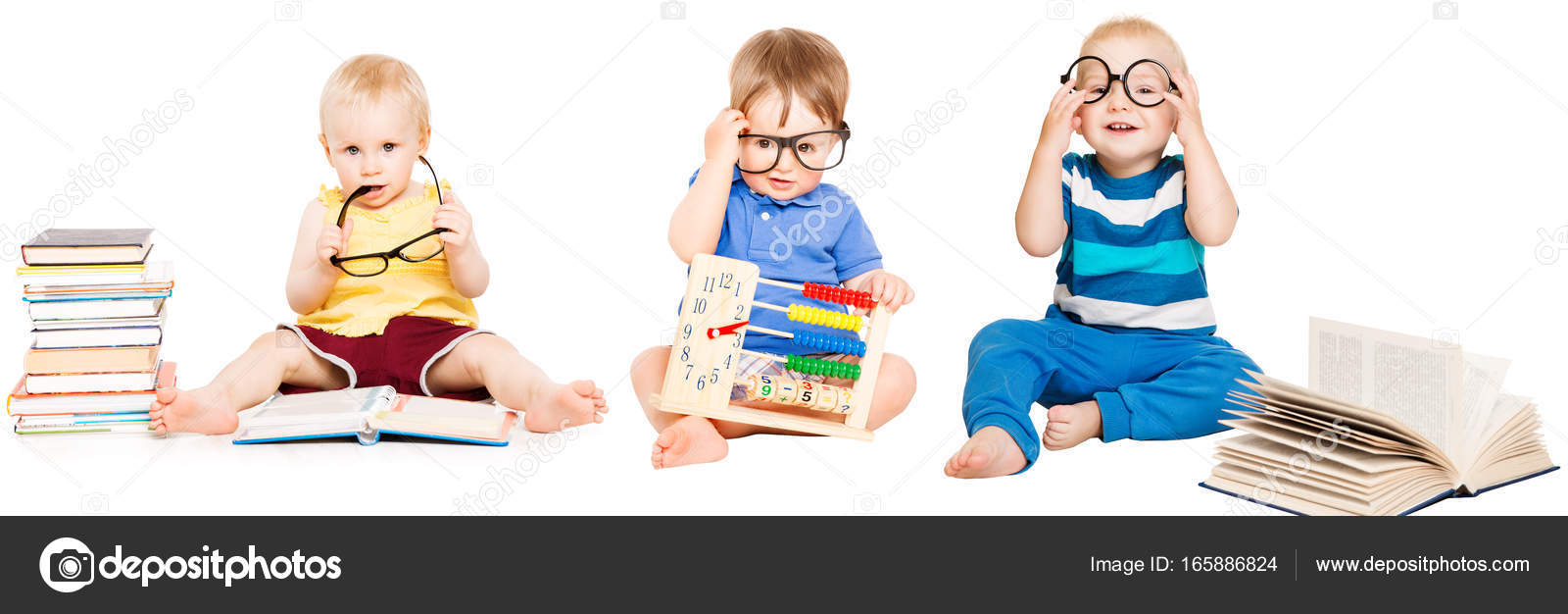 Baby Reading Book Kids Early Education Smart Children Group In