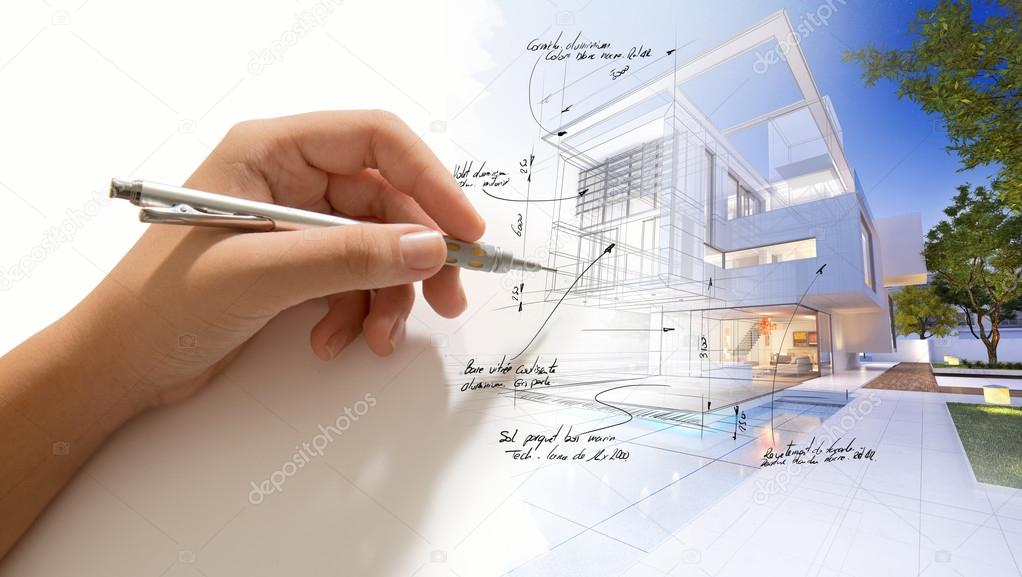 Architecture project in progress