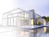 A real tervezet ház