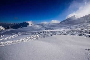winter panorama from the top of Piazzo - Orobie Alps