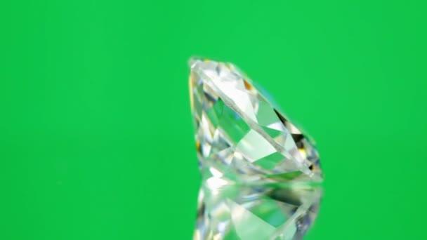 forgó zöld gyémánt