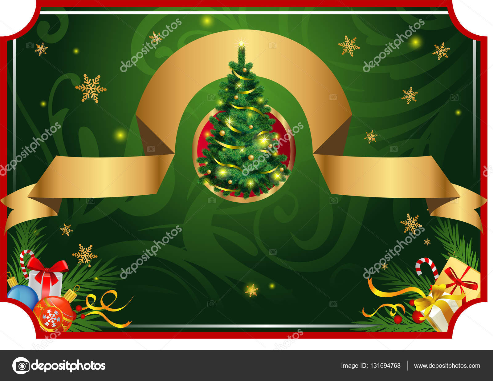 Classic christmas card stock vector azzzya 131694768 christmas classic background for greeting cards banners presentations decorations vector by azzzya m4hsunfo