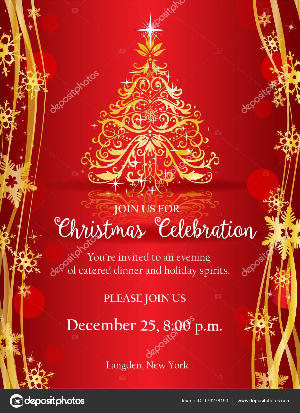Foto Crear Tarjetas De Navidad Con Invitacion De La Fiesta De - Crear-tarjetas-de-navidad