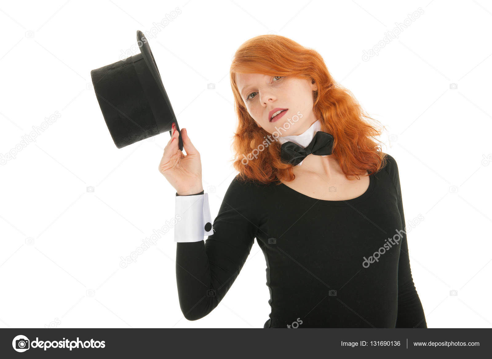Frau gekleidet für party — Stockfoto © ivonnewierink #131690136