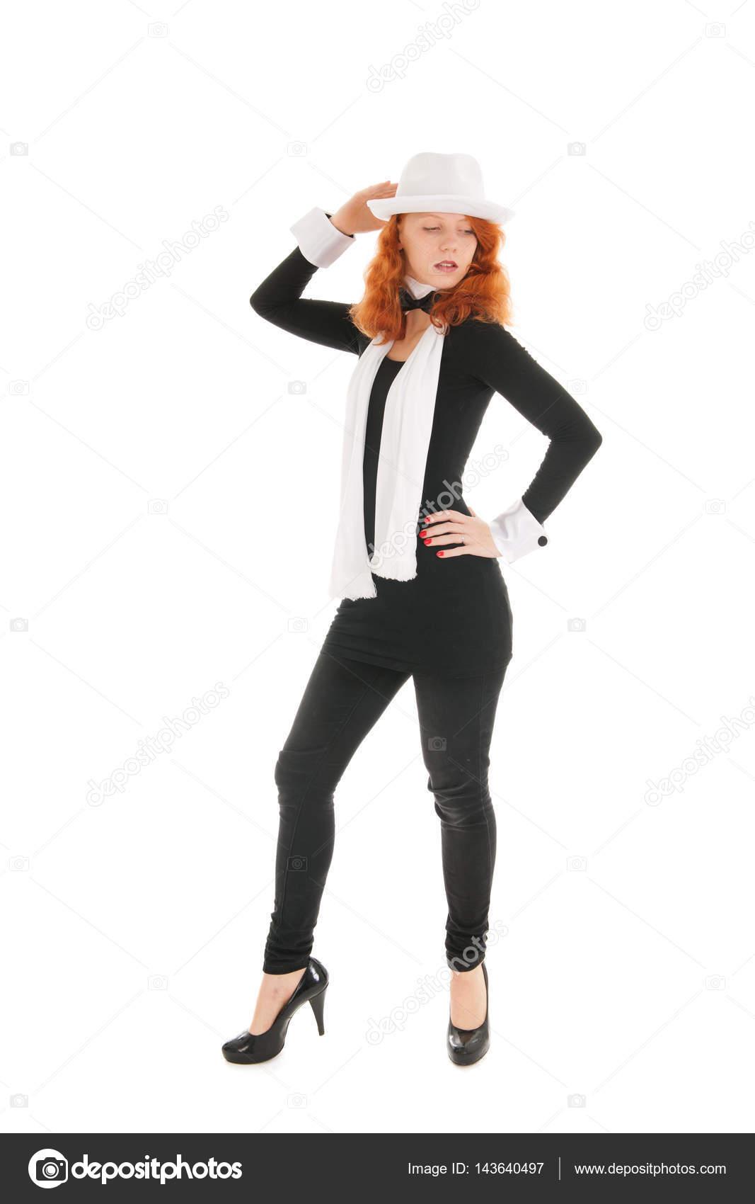 Frau gekleidet für party — Stockfoto © ivonnewierink #143640497