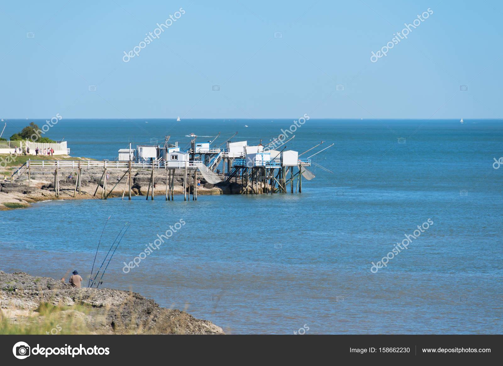 Fisherman Cabins At The Coast Stock Photo C Ivonnewierink