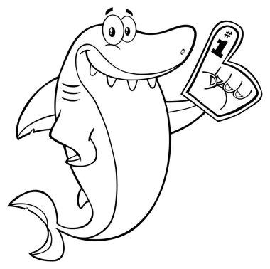 Shark Cartoon Character