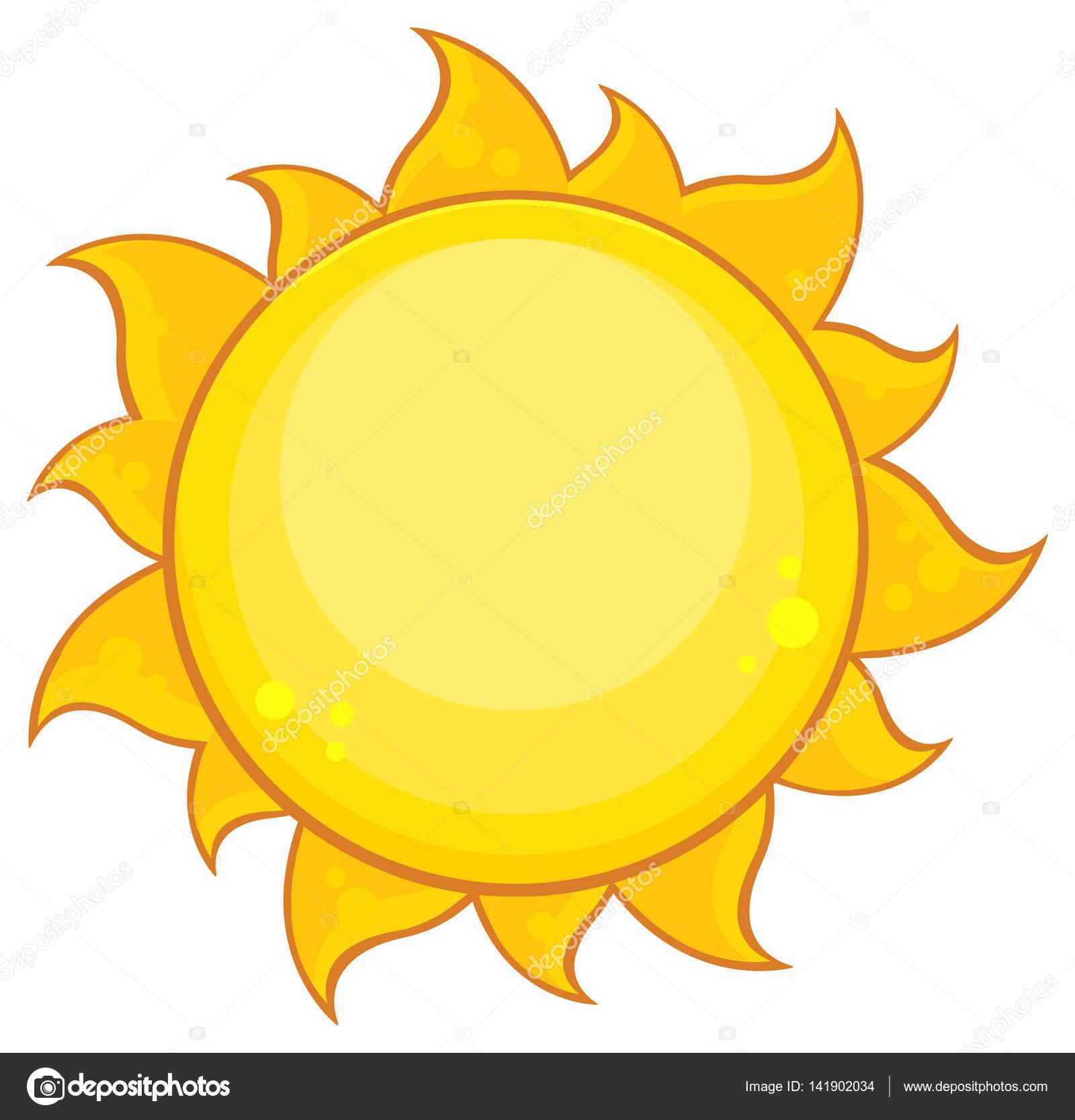 personaje de dibujos animados de sol archivo imágenes vectoriales