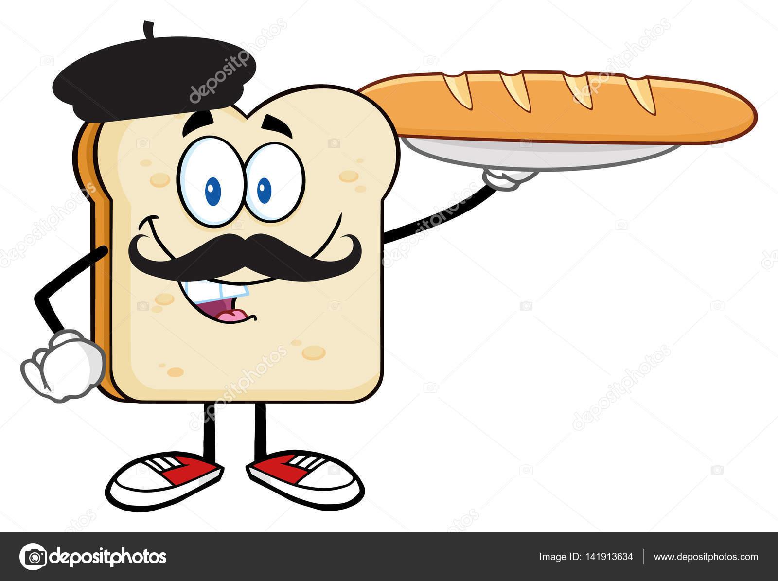Dibujos Animados De Rebanada De Pan