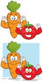 rajče kreslená postavička
