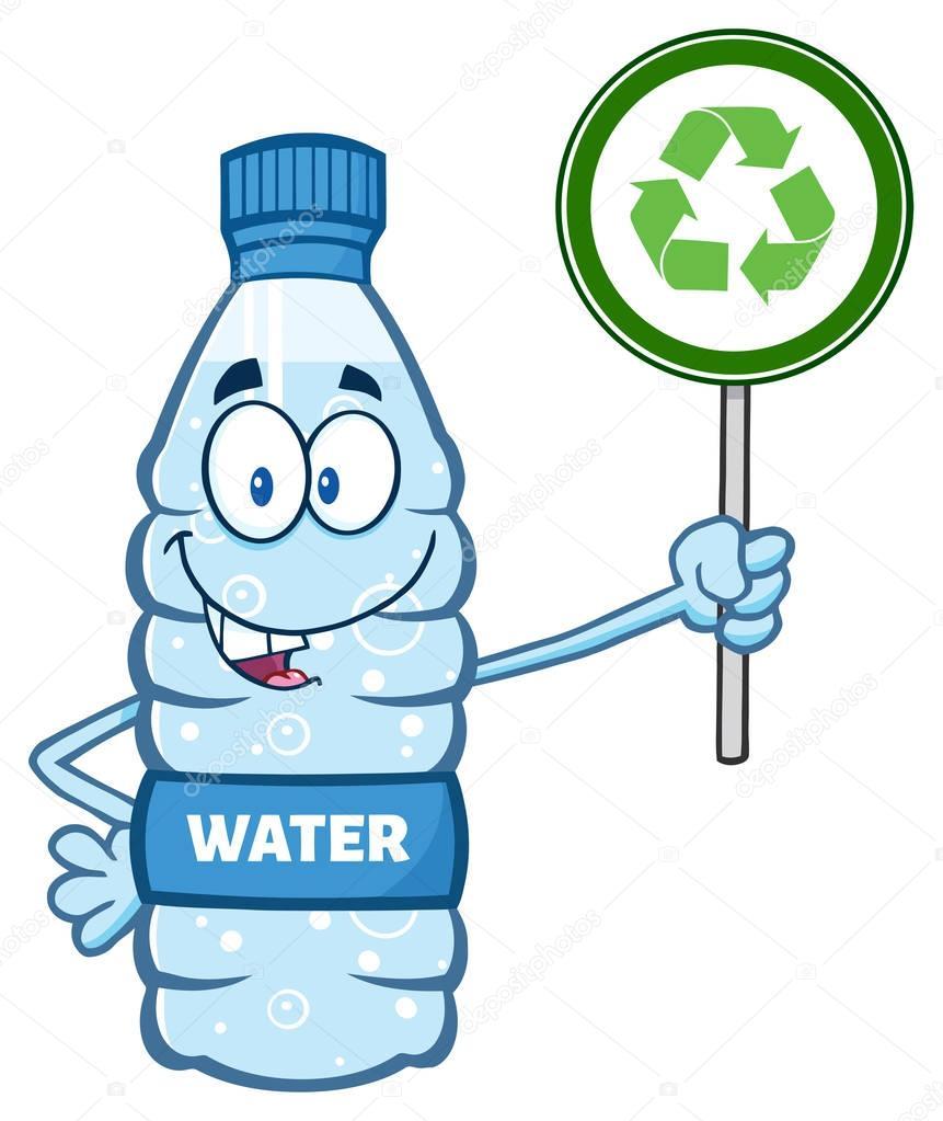 Cartoon Plastic Bottle