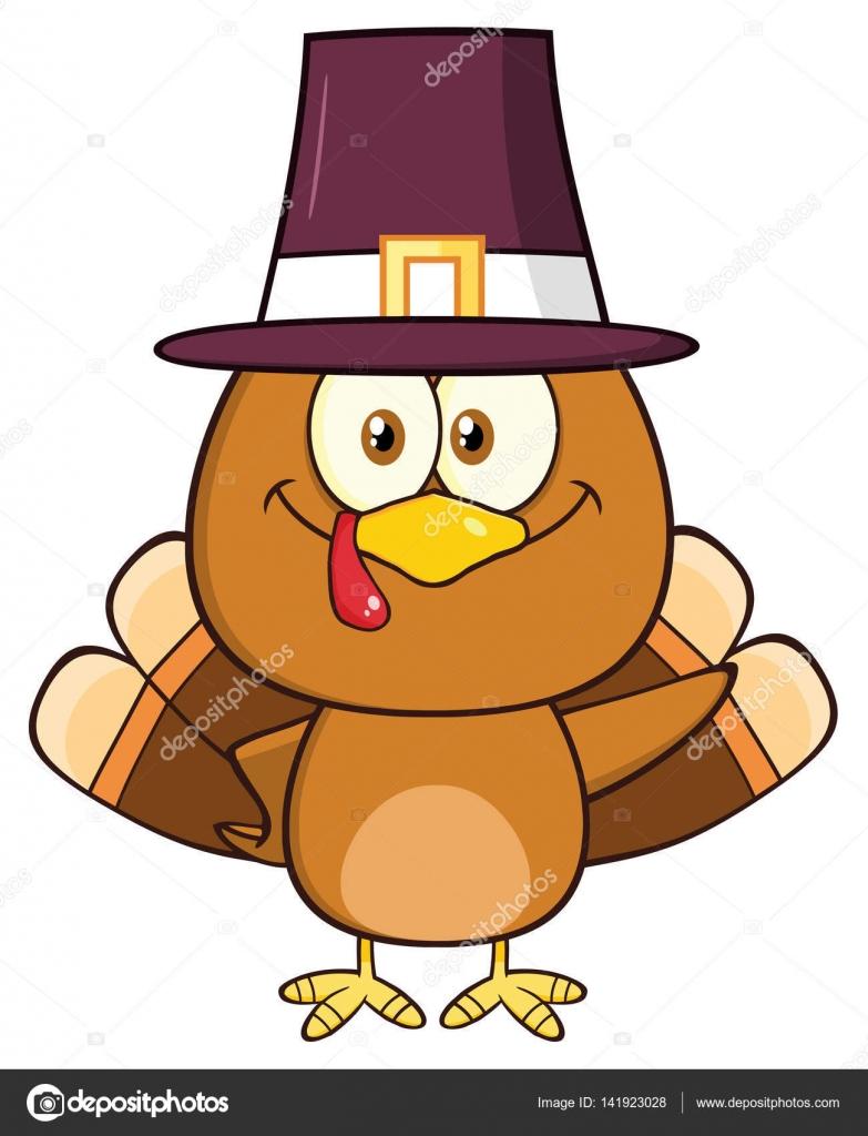Thanksgiving Türkei Vogel Stockvektor Hittoon 141923028
