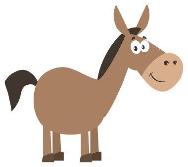 Donkey Cartoon Character