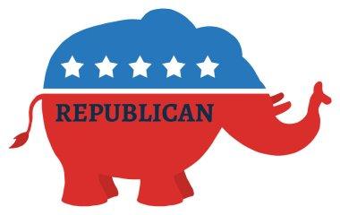 Republican Elephant Illustration