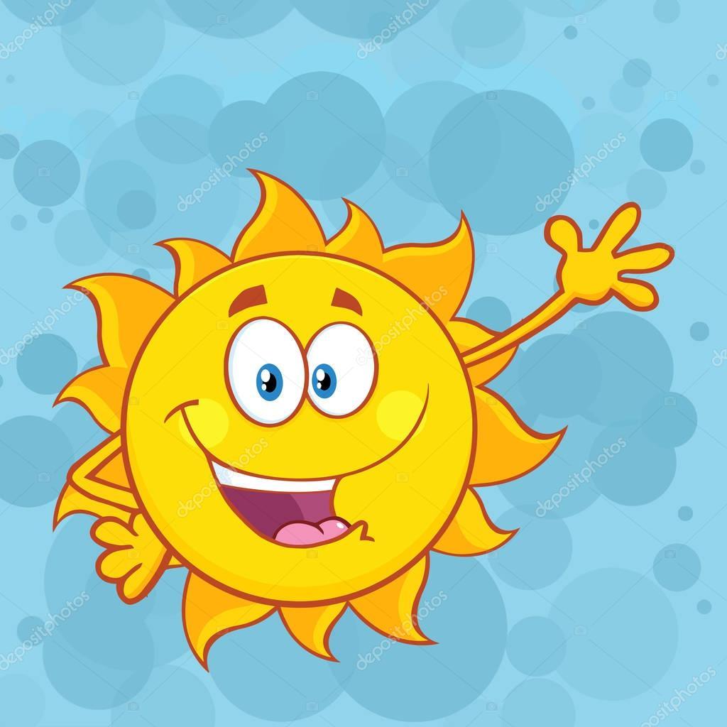 Cute Sun Cartoon