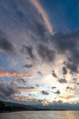 Lovina Beach Sunset