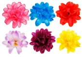 Photo artificial flowers