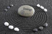 Japán Zen kert a nyugalom-kő szerkezetű homok