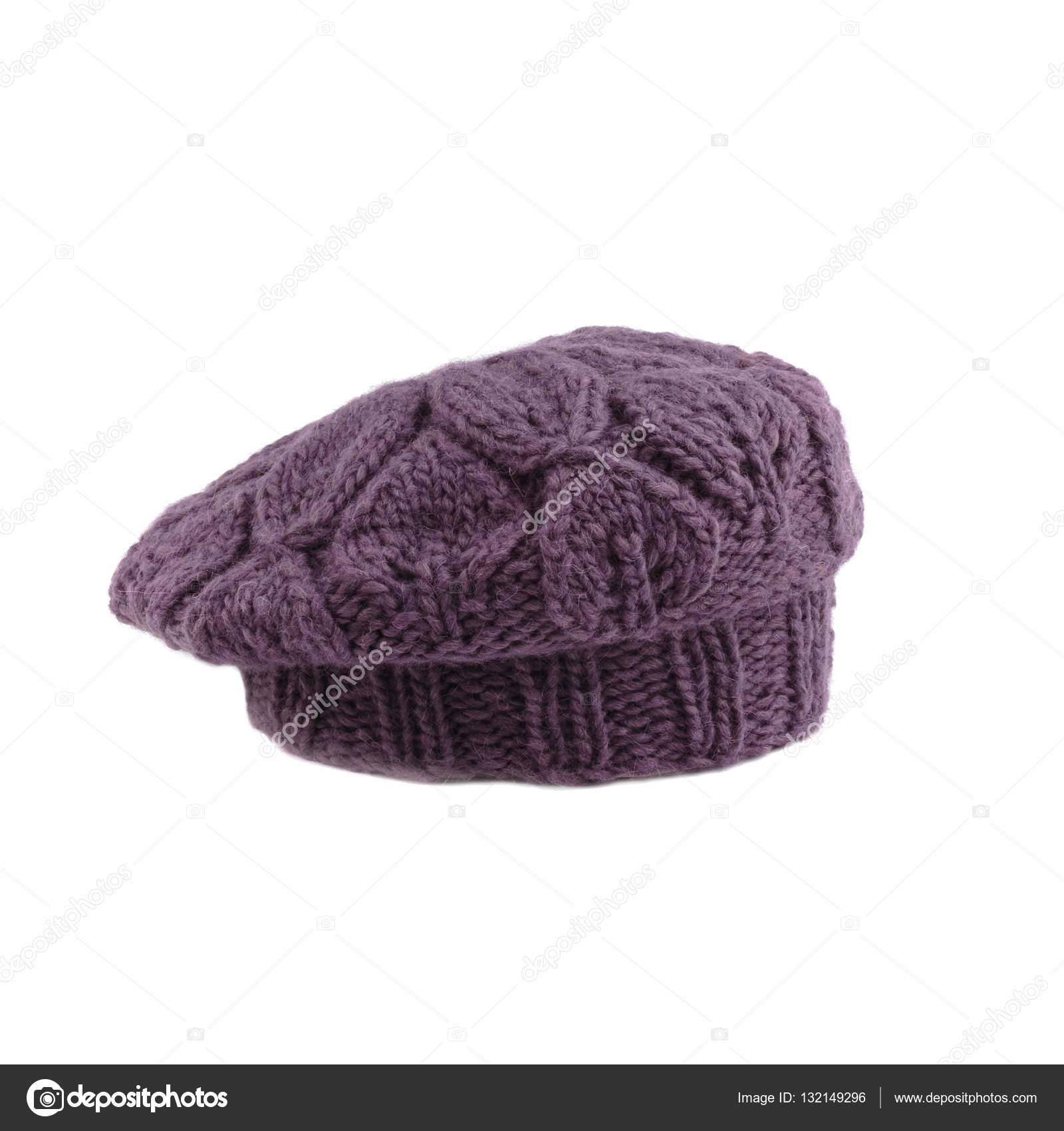 b2fbcc8b064 violette french beret — Stock Photo © apeyron  132149296