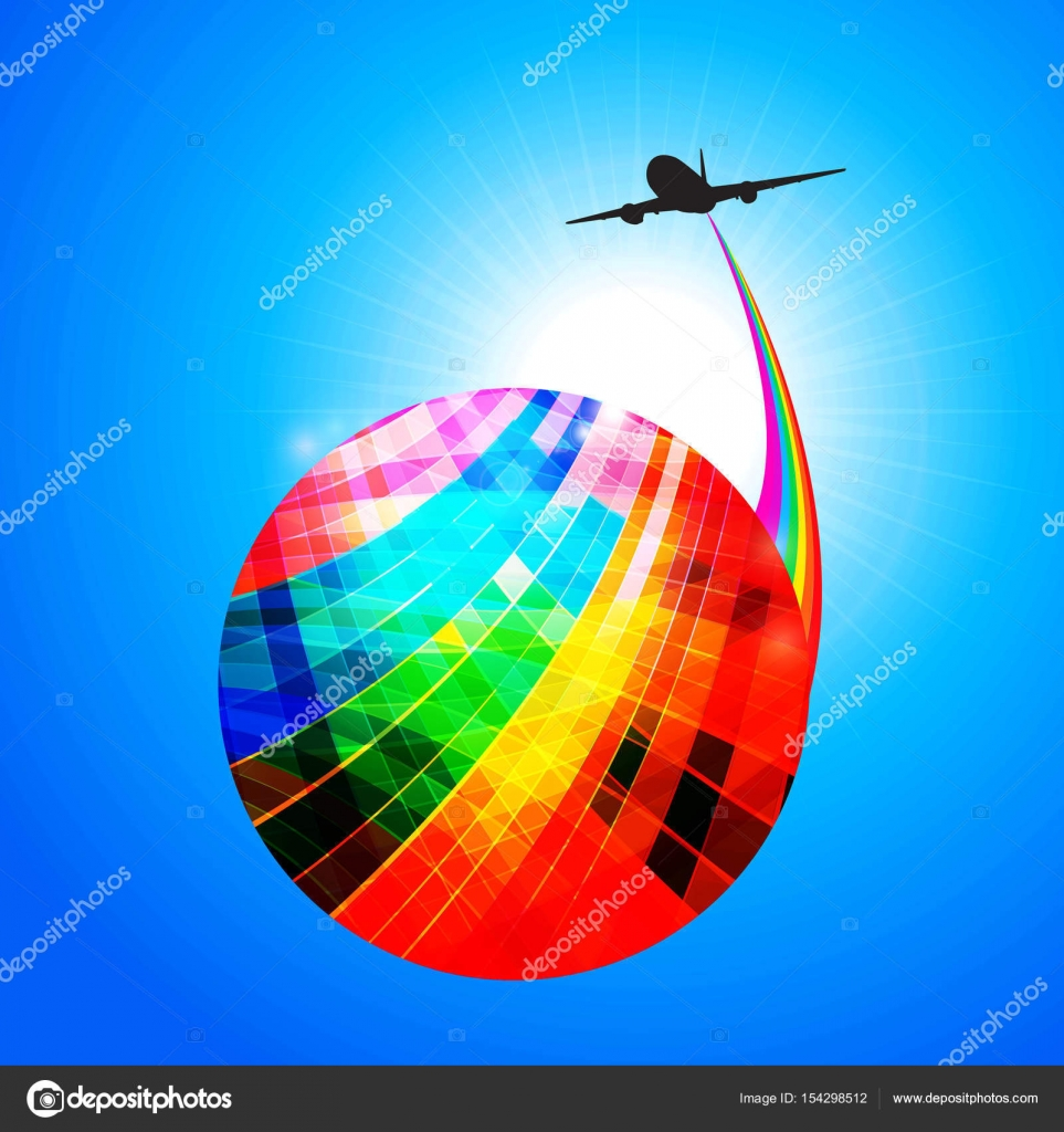 ===El mundo en colores=== Depositphotos_154298512-stock-illustration-multicoloured-globe-with-airplane-silhouette