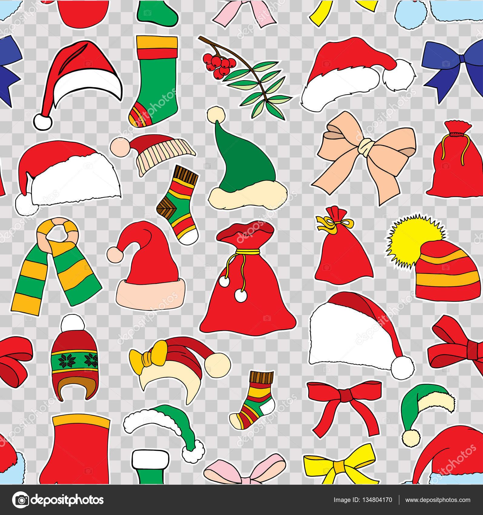 patrón Christmas vector inconsútil — Archivo Imágenes Vectoriales ...