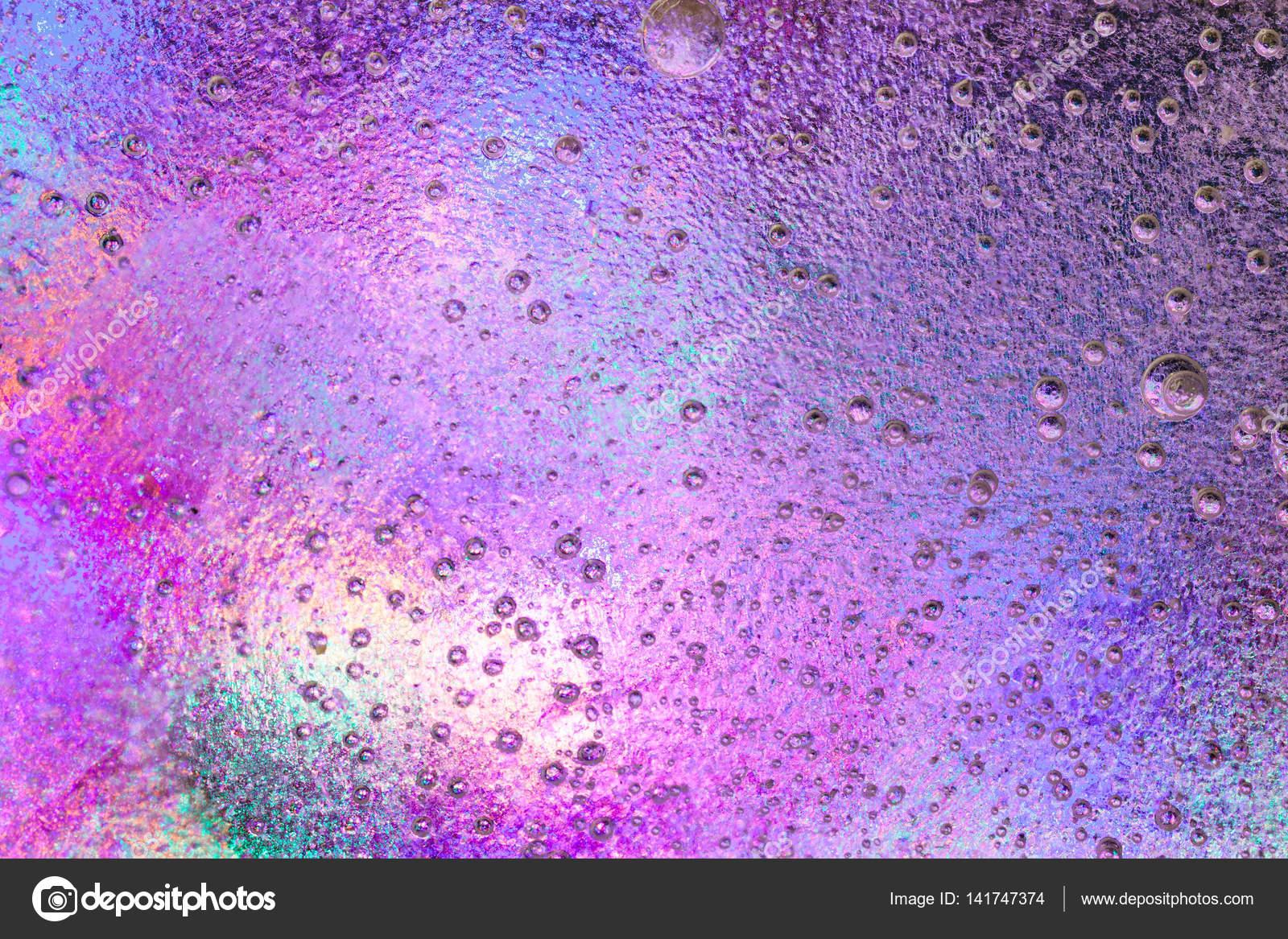Fondo rosa hielo congelado con bellos colores — Fotos de Stock ...